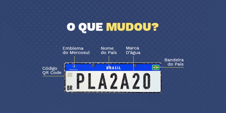 Quais são as Mudanças da Nova Placa Mercosul? Confira o Novo Padrão!